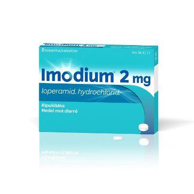 IMODIUM 2 mg tabl, kalvopääll 16 fol