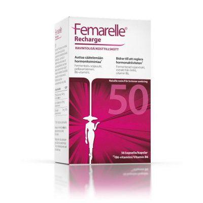FEMARELLE 50+ RECHARGE 56 KAPS