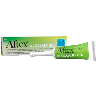 AFTEX ALOCLAIR GEL X8 ML