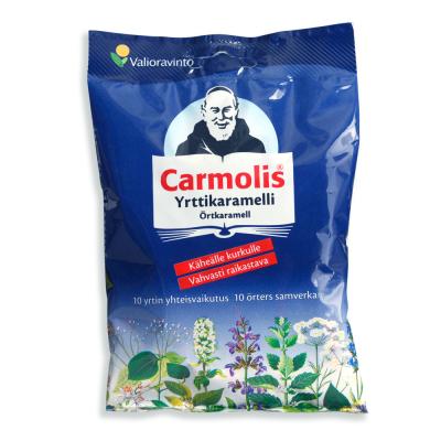 Carmolis Yrttikaramelli 72 g