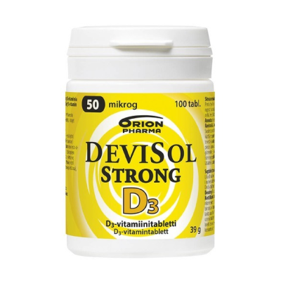 DEVISOL STRONG 50 MIKROG PURUTABLETTI 100 kpl