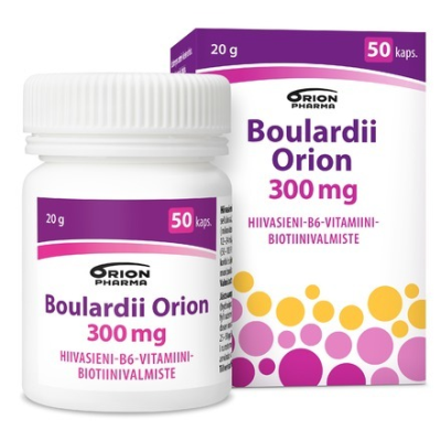 BOULARDII ORION 300 mg 50 kaps