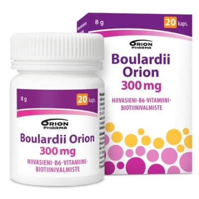BOULARDII ORION 300 mg 20 kaps