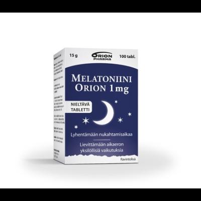 MELATONIINI ORION 1 MG 100 TABL
