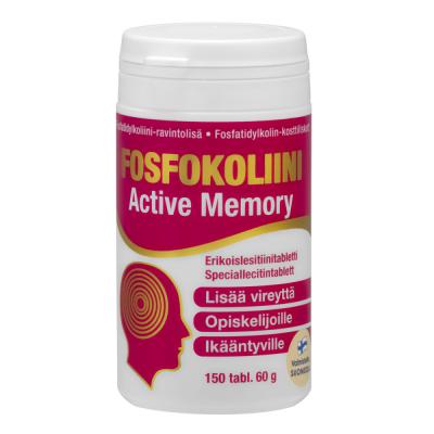 FOSFOKOLIINI TABLETTI X150 TABL / 60 G