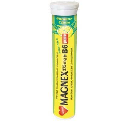 Magnex 375 mg+B6 Pore 20 tabl