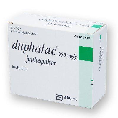 DUPHALAC 950 mg/g jauhe 20x10 g