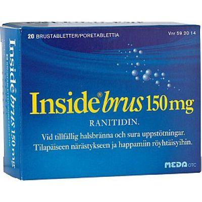 INSIDE BRUS 150 mg poretabl 2x10 kpl
