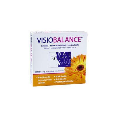 VISIO BALANCE LUTEIINI-ZEAKSANTIINI X60 TABL / 18 G