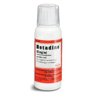 BETADINE 10 mg/ml suuvesi 200 ml