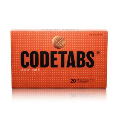 CODETABS 25 mg imeskelytabl 20 fol