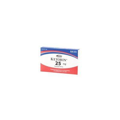 KETORIN 25 mg tabl 15 fol