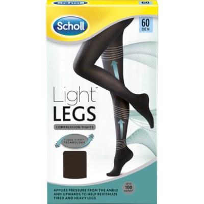 Scholl sukkahousut musta 60 DEN XS 1 kpl