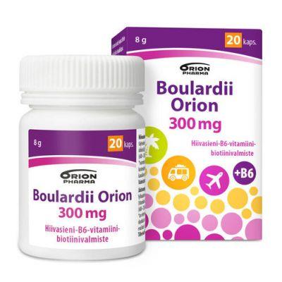 BOULARDII ORION 300 mg 20 kaps