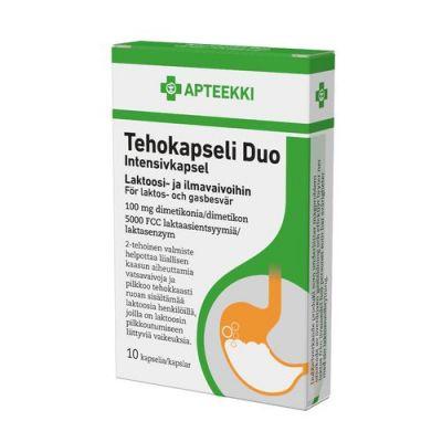 Apteekki Tehokapseli Duo 100 kaps