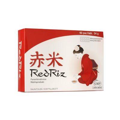 RedRiz+Q10 tabl punariisivalmiste 60 kpl