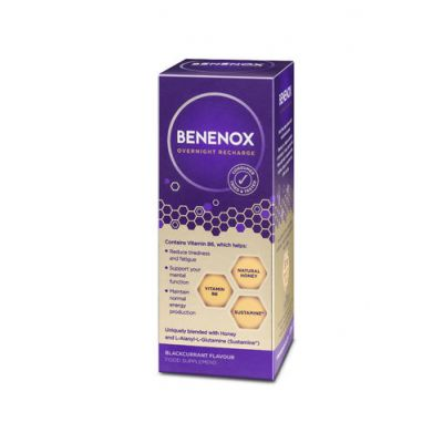 Benenox Overnight Recharge Mustaherukka 135 ml