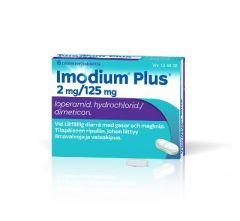 IMODIUM PLUS 2/125 mg tabl 6 fol