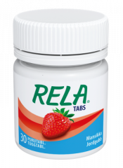 RELA TABS STRAWBERRY 30 purutabl