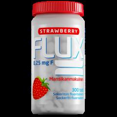 Flux Strawberry fluoritabletti 250 mikrog 300 imeskelytabl